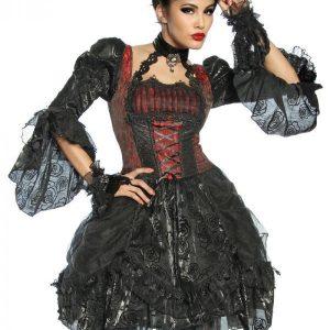 12630 021 XXX 00 300x300 - Vampir kostum obleka iz tila   AX-12630