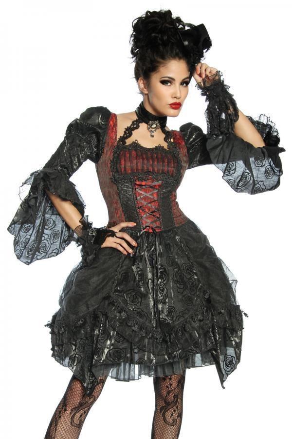 12630 021 XXX 00 600x900 - Vampir kostum obleka iz tila   AX-12630