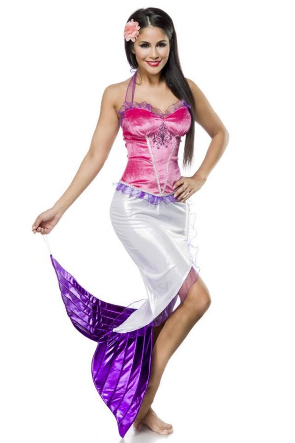 14872 056 XXX 00 600x900 - PUstni kostum obleka morska deklica Mermaid Costume AX-14872