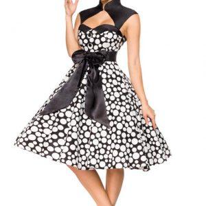 50096 241 XXX 00 300x300 - Vintage poletna obleka z ovratnikom  AX-50096