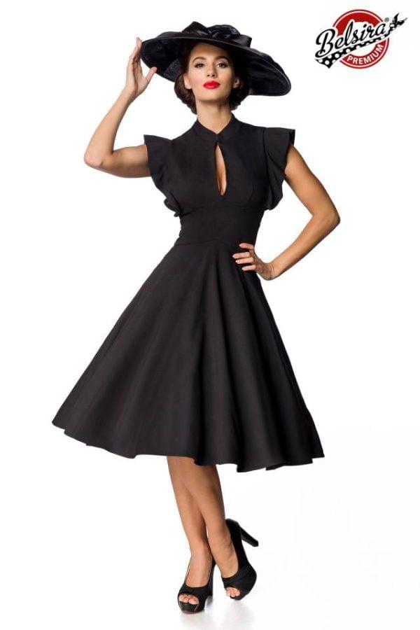 50152 002 XXX 00 600x900 - Premium Vintage elegantna obleka poletna AX-50152