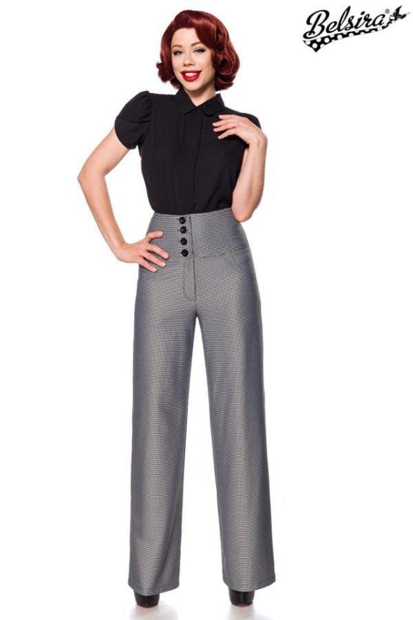 50171 010 XXX 00 600x900 - Marlene hlače z visokim pasom  AX-50171