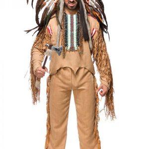 80113 081 XXX 00 300x300 - Komplet pustni kostum indijanec Native American moški  AX-80113