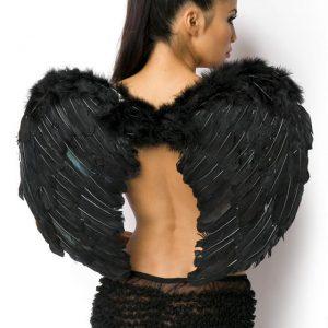 11060 002 XXX 00 300x300 - Angelska krila iz perja črna AX-11060