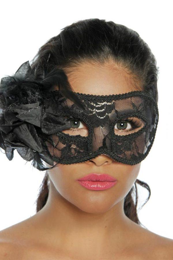 12632 002 XXX 00 600x900 - Maska krinka za oči prekrita s čipko AX-12632