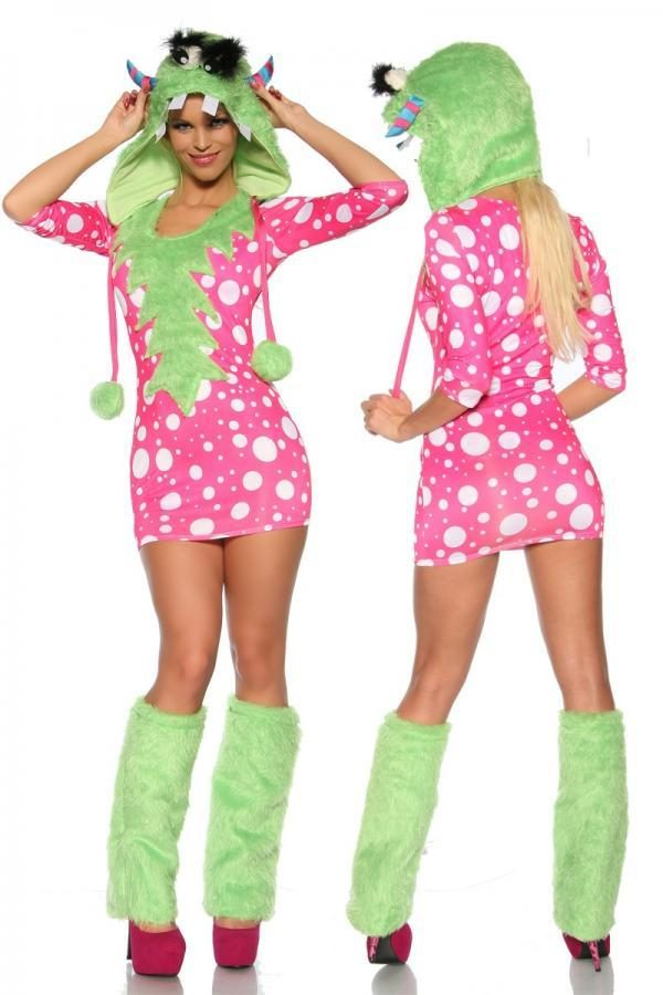 13153 083 XXX 00 600x900 - Pustni obleka za pošast Monster Costume AX-13153