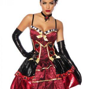 13171 018 XXX 00 300x300 - Queen Rdeča kraljice kostum obleka AX-13171
