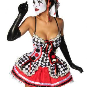 13172 041 XXX 00 300x300 - Zabaven kostum oblekaz narbranim roborm  Harlequin Costume AX-13172