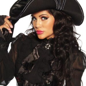 13183 002 XXX 00 300x300 - Pirate luksuzni pustni klobuk AX-13183
