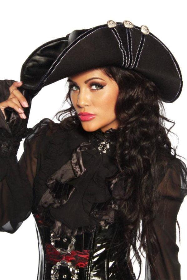 13183 002 XXX 00 600x900 - Pirate luksuzni pustni klobuk AX-13183