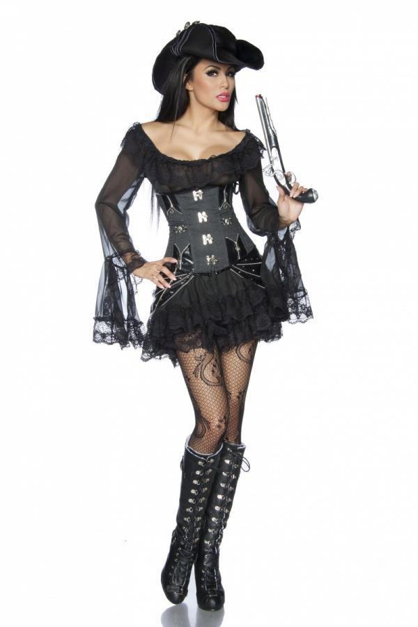 13184 002 XXX 00 600x900 - Pirat obleka čipka  AX-13184