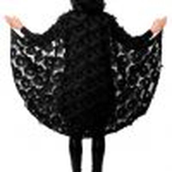 1186 R 100x100 - Pustno oblačilo ogrinjalo Raven (ogrinjalo z hood)