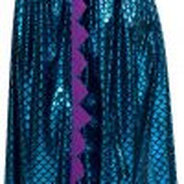 5513 R 100x100 - Otroški pustni kostum Dragon ogrinjalo, modra