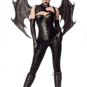 80148 002 XXX 00 300x300 - Pustni kostum fantazijski Bat Girl Fighter  AX-80148