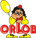 orlob karneval logo - Tights črna with črna line
