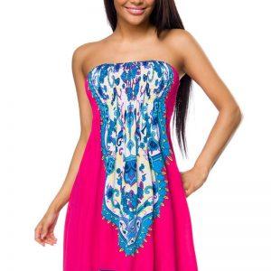 14039 212 XXX 00 300x300 - Poletna obleka za na plažo tisk AX-14039