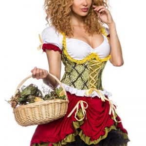 14354 264 XXX 00 300x300 - Pustni kostum Rdeča kapica Maidservant Costume AX-14354