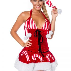 14356 009 XXX 00 300x300 - Božični kostum obleka 3 delna z klobukom  AX-14356