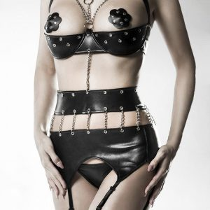 14507 002 XXX 00 300x300 - 4-delni erotik wetllok Body Set by Grey Velvet AX-14507