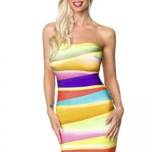 14673 066 XXX 00 300x300 - Bandage Shape obleka barvita  AX-14673
