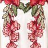 15112 014 XXX 02 100x100 - Mini obleka v izrez vezenje rože AX-15112