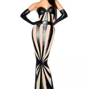 18166 065 XXX 00 300x300 - Wetlook obleka večerna dolga by Saresia AX-18166