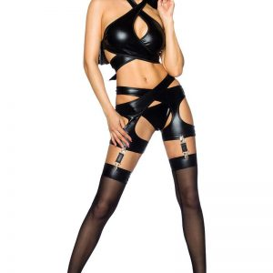 18195 002 XXX 00 300x300 - Wetlook hot gogo Set by Saresia AX-18195