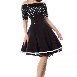 50006 241 XXX 00 300x300 - Vintage obleka ramena prosta gumbi AX-50006
