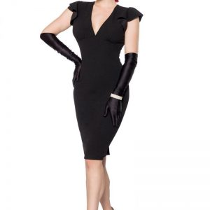 50080 002 XXX 00 300x300 - Retro obleka elegantna rokavi metuljev AX-50080