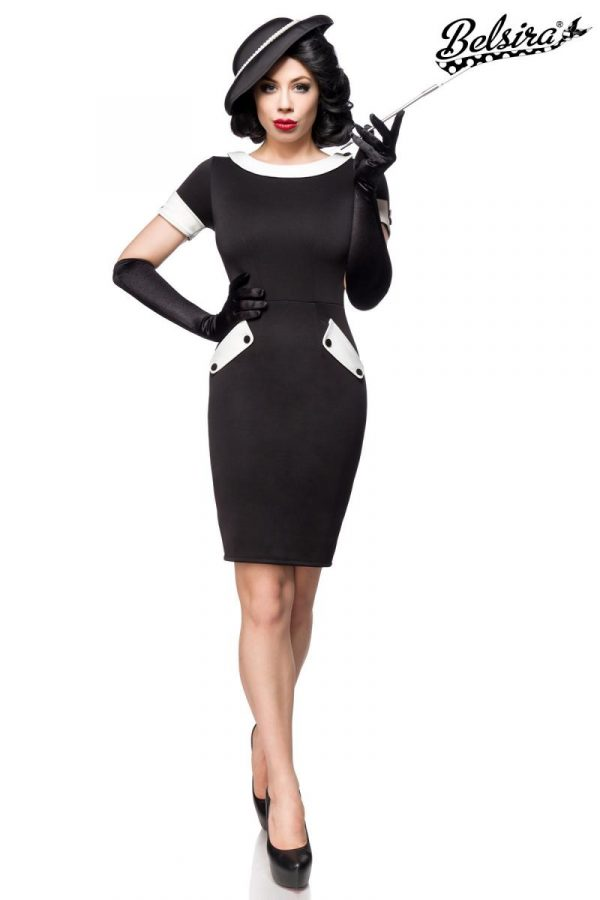 50097 010 XXX 00 600x900 - Vintage obleka slimfit AX-50097