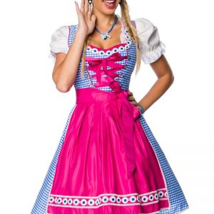 70021 261 XXX 00 300x300 - Tradicionalna obleka  Dirndl kvadratni vzorec  AX-70021
