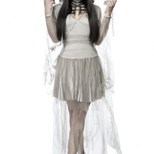 80011 079 XXX 00 300x300 - Komplet pustni kostum sklelet duha Skeleton Ghost AX-80011