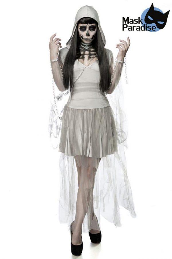 80011 079 XXX 00 600x900 - Komplet pustni kostum sklelet duha Skeleton Ghost AX-80011
