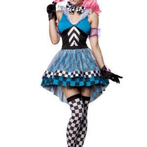 80032 050 XXX 00 300x300 - Zabaven kostum obleka komplet nori kloven Crazy Hatter AX-80032