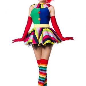 80054 066 XXX 00 300x300 - Komplet pustni kostum kloven dekle  Girl AX-80054