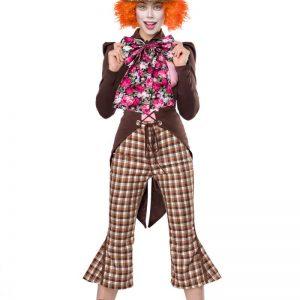80107 066 XXX 00 300x300 - Zabavni kostum norega klovna Crazy Hatter AX-80107