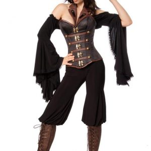 80120 025 XXX 00 300x300 - Komplet pustni kostum piratka Female Pirate AX-80120
