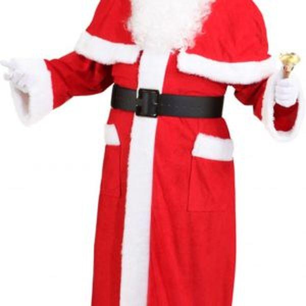 21202 300x300 - Božičkov plašč, rdeč (obleka z kapuco in kratkim ogrinjalom, kapa, pas)