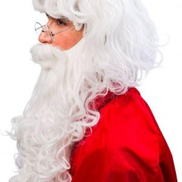 božiček brada in lasulja