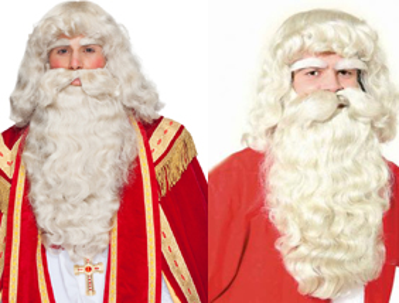 Lasulje brade za božička in Dedka Mraza