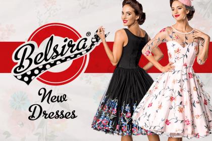 belsria vintage retro obleke